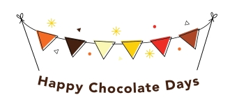 Happy Chocolate Days personalised chocolates