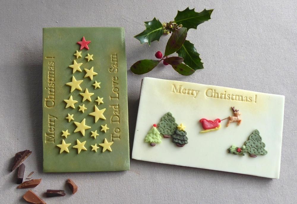 Edible Christmas Cards